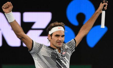 Roger Federer en 18eme Majeur