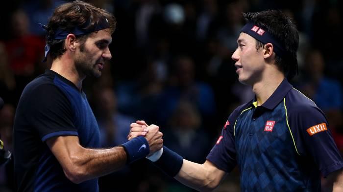 Kei Nishikori: 'Federer fait quelque chose d'incroyable à son âge'