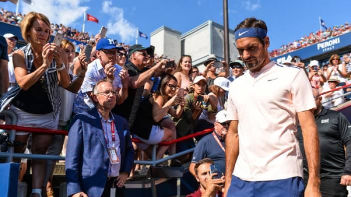 Roger Federer repart de Cincinnati sans trophée et avec des problèmes de dos !