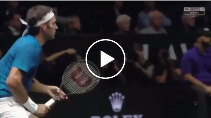 Federer atteint un magnifique vainqueur