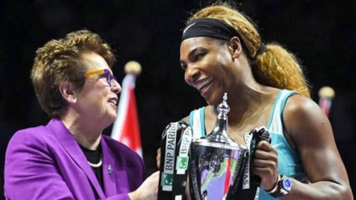 Billie Jean King: «McEnroe essaie de jouer contre Serena  pendant des années'