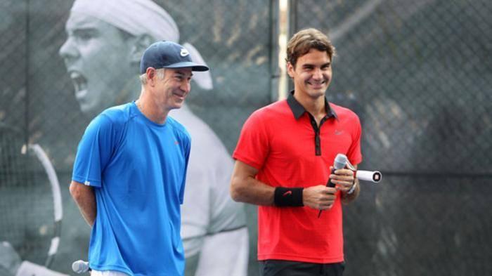 John McEnroe: 'Nadal, Federer sont les deux meilleurs joueurs  déjà'