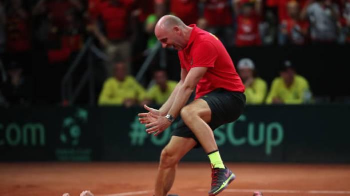 Steve Darcis: «C'est pour ce genre de matchs que vous jouez tennis'