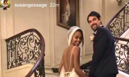 Français Jeremy Chardy Weds Modèle Susan Gossage