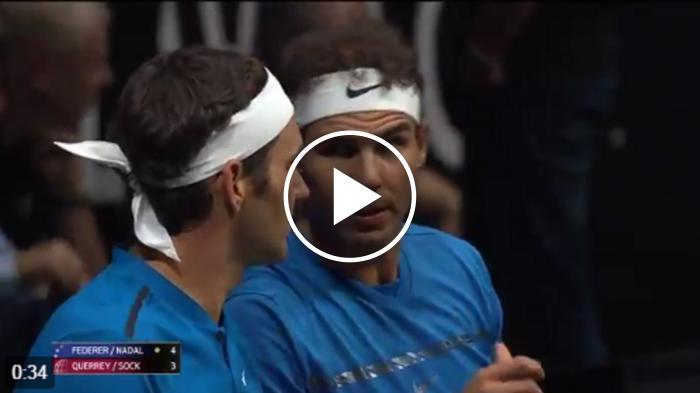 Federer à Nadal: 'Aujourd'hui, vous avez un joueur net.  J'espère  T'aider'