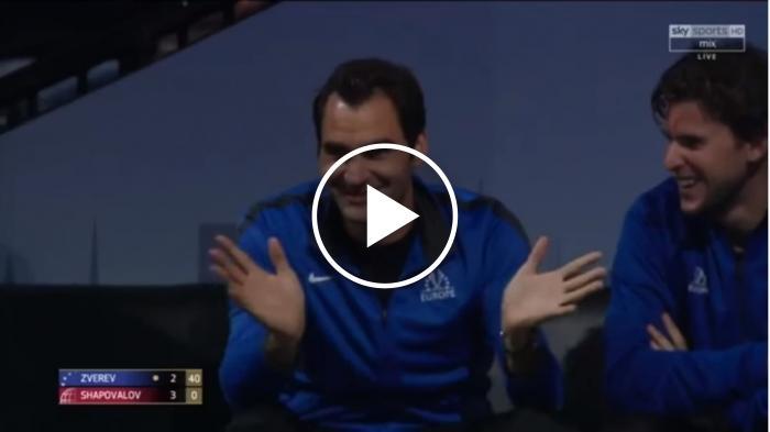 Zverev: 'Ce sont les gars Roger, pas Rafa'