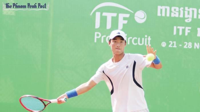 Kim-Cheong Eui, le joueur de tennis ambidextre