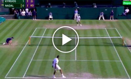 Tennis La plupart des coups inattendus