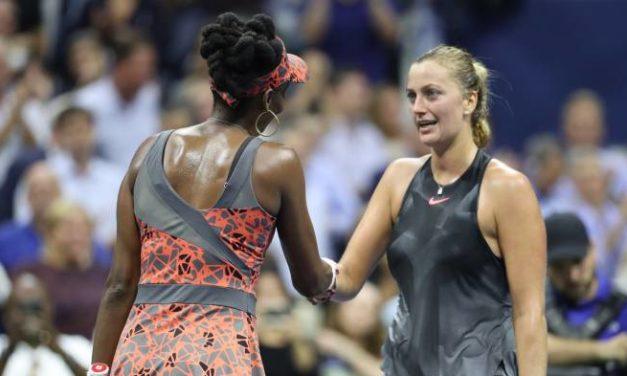 US OPEN – Singles Femmes: Venus Williams bat Kvitova à atteindre les demi-finales