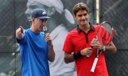"John McEnroe: ""Federer battra Nadal dans le semis '"