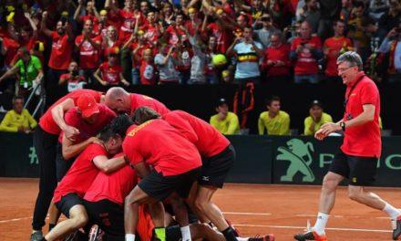 Demande de la Belgique d'accueillir la Coupe Davis Premier tour 2018  accepté