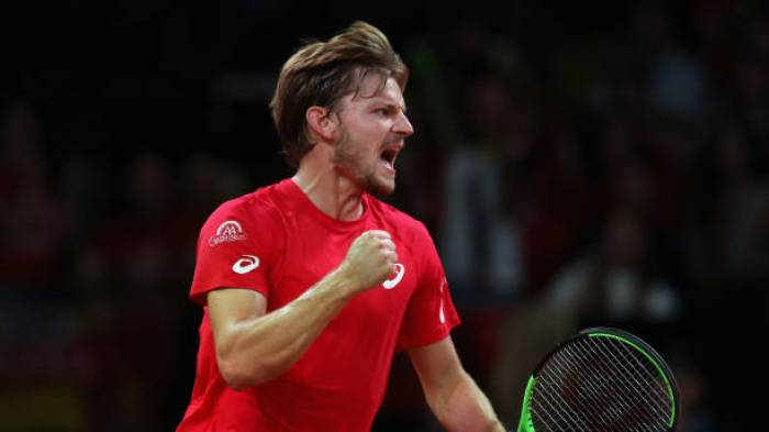David Goffin: «C'était probablement mon meilleur match de la Coupe Davis  déjà'