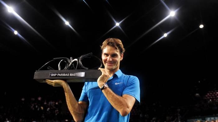 ATP Paris Bercy – Liste d'entrée: Federer se lance pour gagner son deuxième  Titre