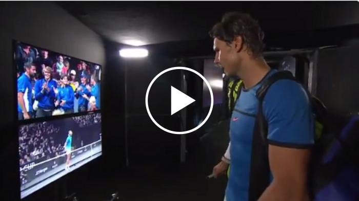 Nadal regarde ses points forts