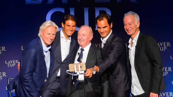 """Bjorn Borg: """"Tout le monde veut voir Federer et Nadal dans  double ensemble"""