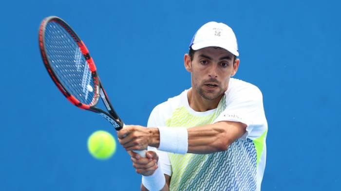 Ancien numéro 28 mondial Santiago Giraldo prend son envol de  tennis