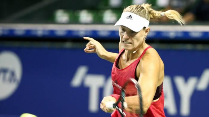 WTA TOKYO – Kerber mène à Pliskova pour atteindre le  demi-finale