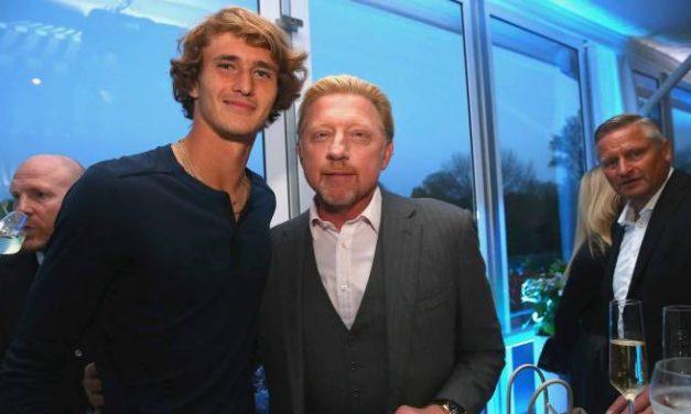 Boris Becker: «Alexander Zverev est un diamant qui a besoin de  être promu'