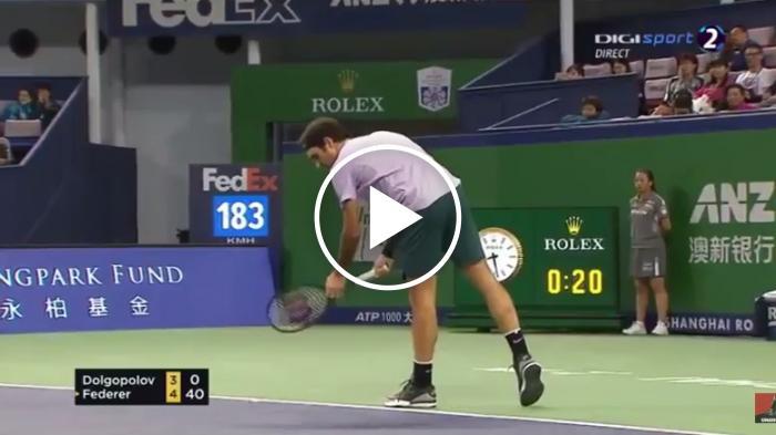 Federer vs Dolgopolov FAITS SAILLANTS