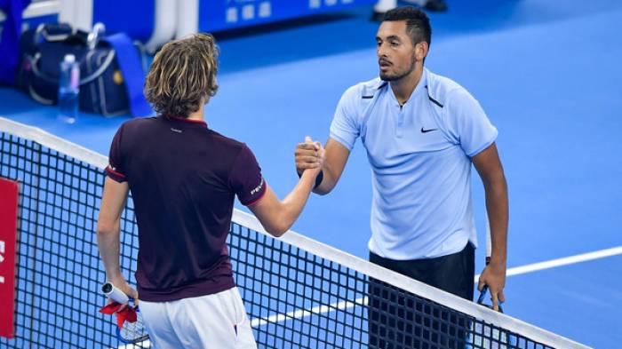 ANALYSE ATP: Kyrgios souffle 32 vainqueurs de services à battre  Zverev à Pékin