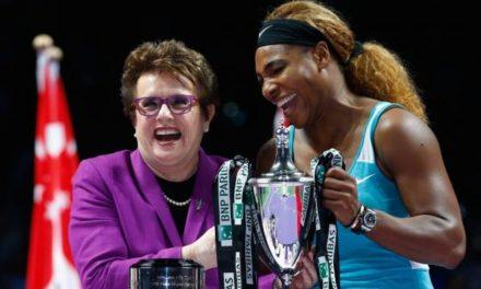 L'incroyable hommage de Serena Williams à Billie Jean King