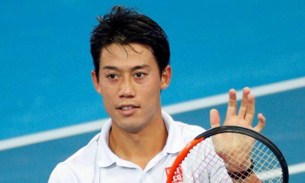 Kei Nishikori satisfait du travail effectué à Clijsters  Académie