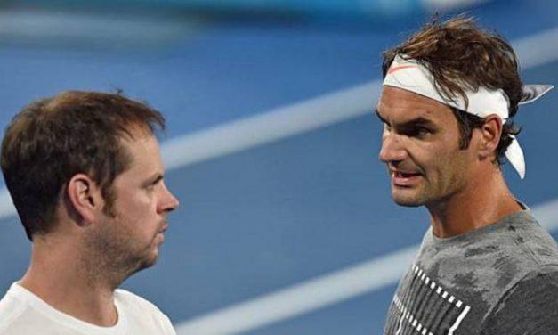Severin Luthi: 'Roger Federer impressionne et surprend  moi'