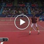 Novak Djokovic d.  Roger Federer, Bâle 2009 Finale  Points forts