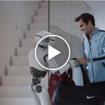 Roger Federer rencontre un robot dans une nouvelle publicité