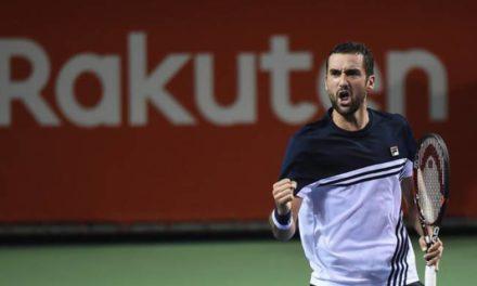 ATP Tokyo: Cylicien dominant Harrison.  Bataille de Goffin  Gasquet