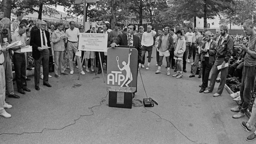 La conférence ATP et le parking: comment une révolution  a commencé