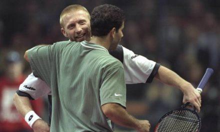 24 novembre 1996: Sampras borde Becker dans l'un des  meilleurs matchs jamais