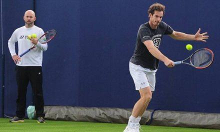 Jamie Delgado dit qu'Andy Murray n'embauchera pas une nouvelle  entraîneur
