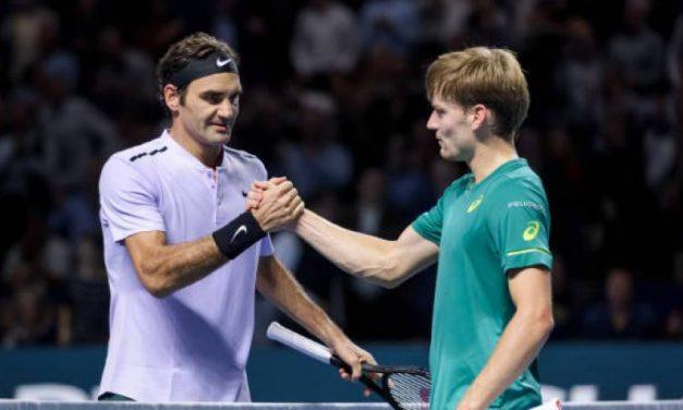 """David Goffin: """"Je n'ai jamais trouvé de clé pour battre Roger  Federer '"""