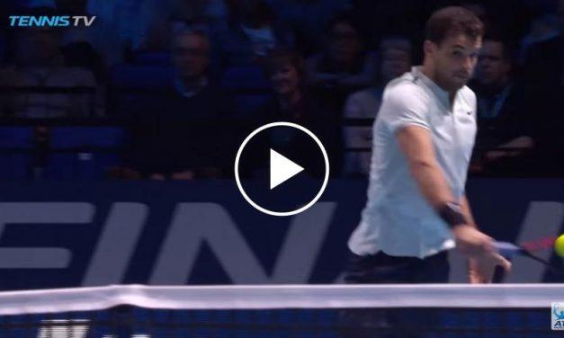 Dimitrov Cracks revers gagnant gagnant