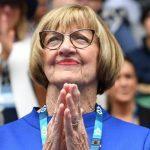 Margaret Court: «Mes titres de 24 Slam iront probablement.  Même  Federer est sur 19 '