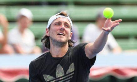 Lucas Pouille engage un ancien n ° 2 mondial pour l'Australien  balançoire