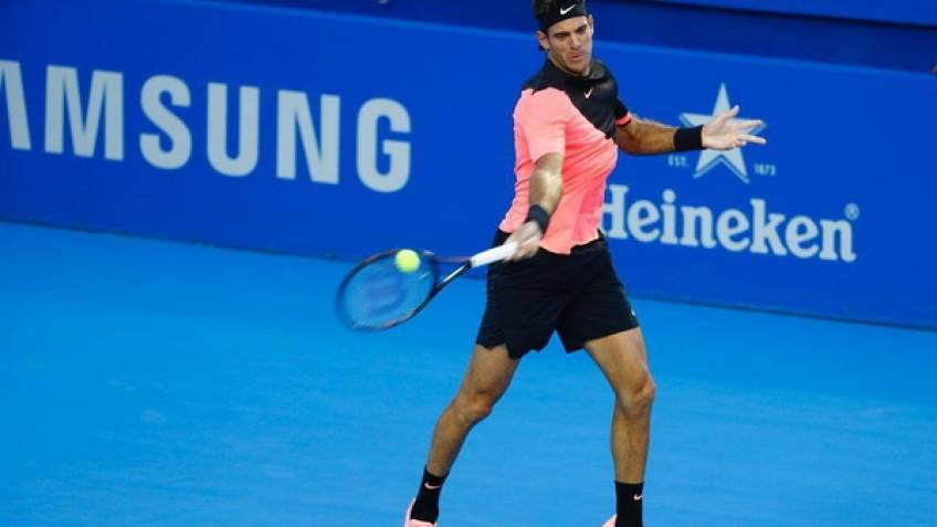 ATP Acapulco: Alexander Zverev bat McDonald.  Del Potro  fait un bon départ