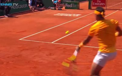 Nadal trouve l'angle CRAZY dans la finale de Monte Carlo