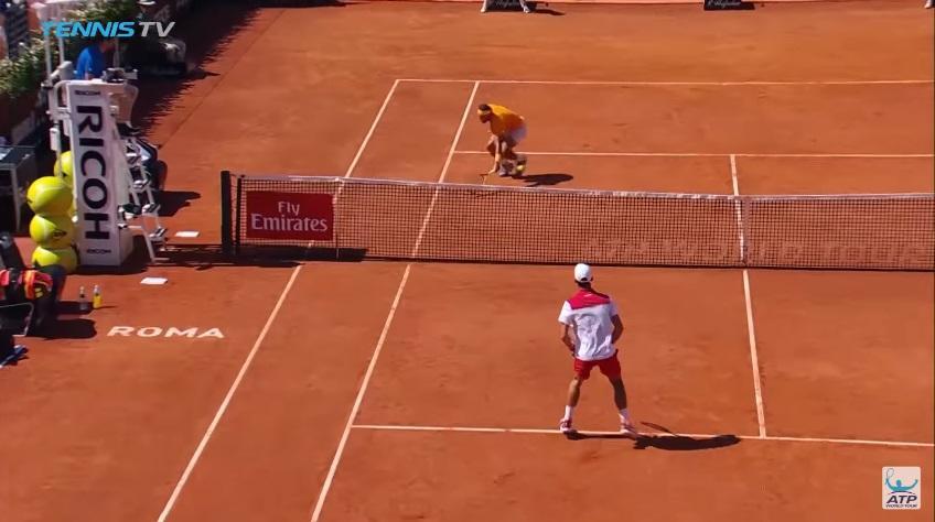 Djokovic vs Nadal EPIC RALLY – 2018 Rome