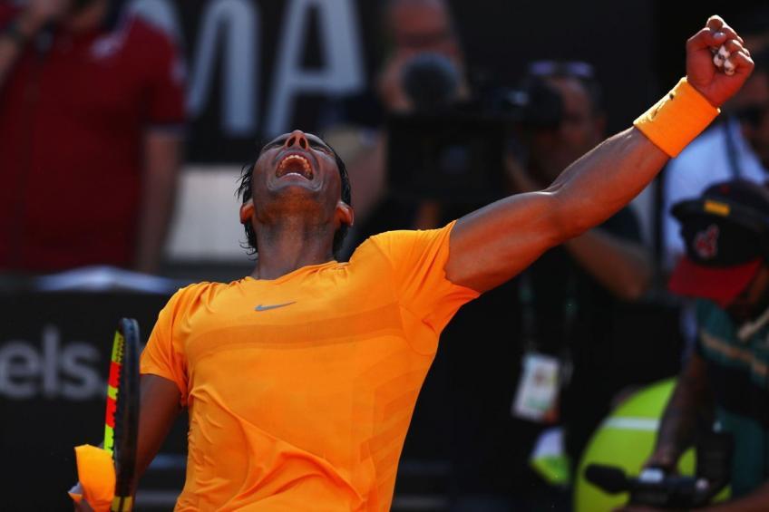 Rafael Nadal: «Je joue pour gagner l'Open de Rome, pour ne pas être  nouveau n ° 1 mondial