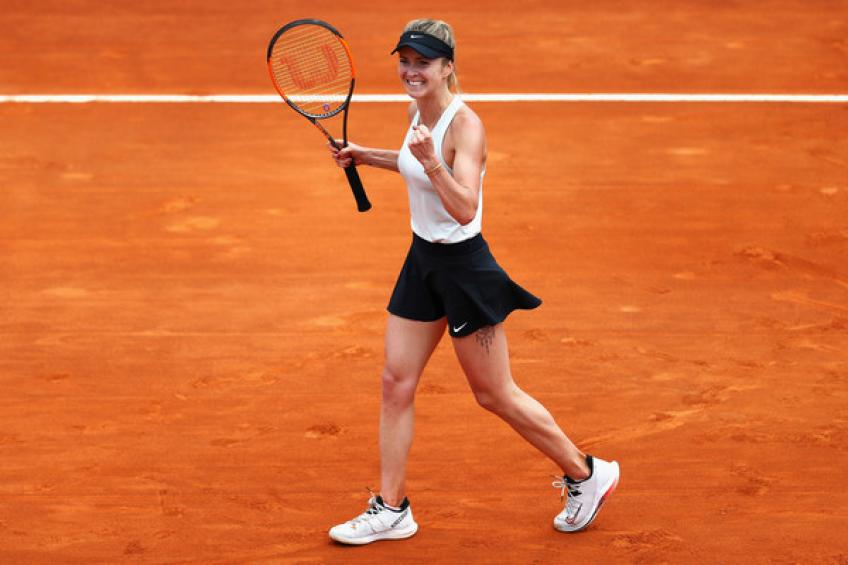WTA Rome: Elina Svitolina sprinte devant Anett Kontaveit  atteindre la finale