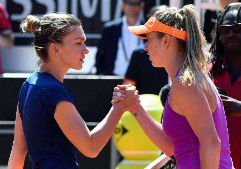 WTA Rome aperçu final: Halep désireux de venger 2017 défaite  contre Svitolina