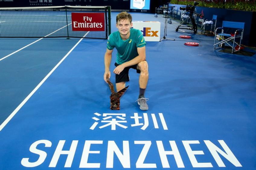 David Goffin est prêt à défendre son titre de Shenzhen  septembre