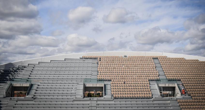 En un coup d'œil: développement du site Roland Garros