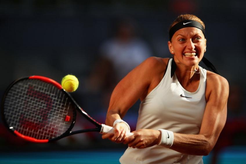 WTA Madrid: Petra Kvitova démantèle Daria Kasatkina pour  neuvième victoire d'affilée