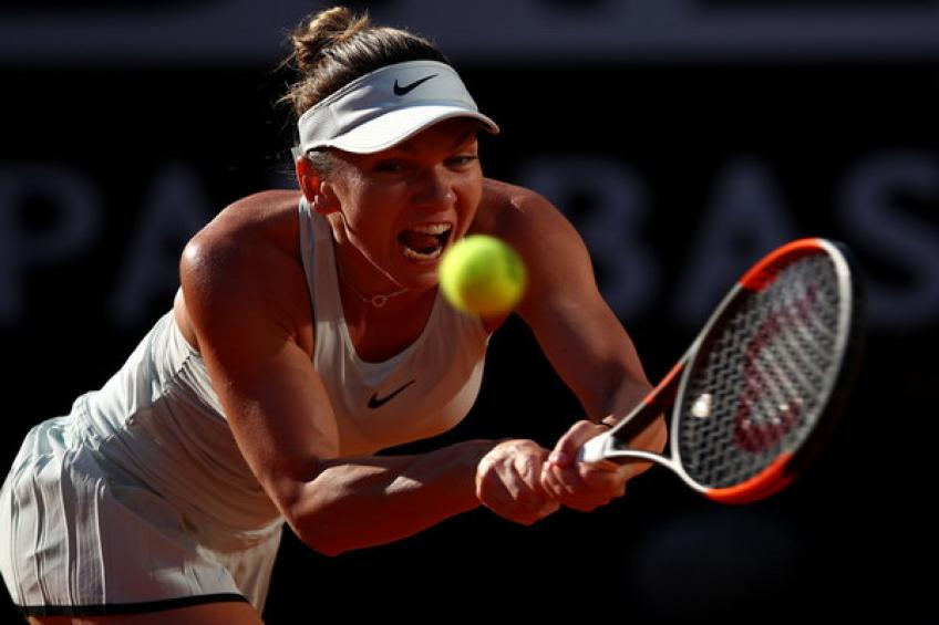 WTA Rome: Simona Halep vient d'une mise en avant  Maria Sharapova