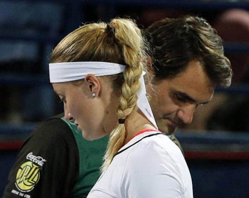 Roger Federer a fait un cadeau inhabituel à Kristina  Mladenovic