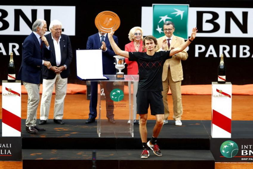 U21 Race à Milan: Alexander Zverev étend sa domination dans  Rome