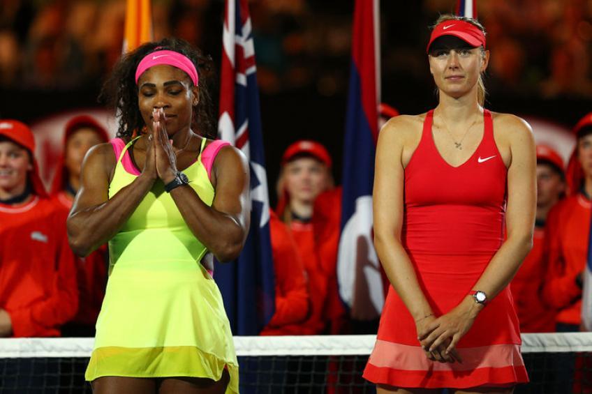 Serena Williams devrait être classée à l'Open de France, dit  Maria Sharapova